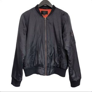 Iris Bomber Jacket Size L Dark Blue